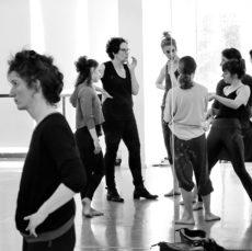 סדנת אמן עם סאלי אן- מפגש,שיחה,סרט ומופע- Anenome